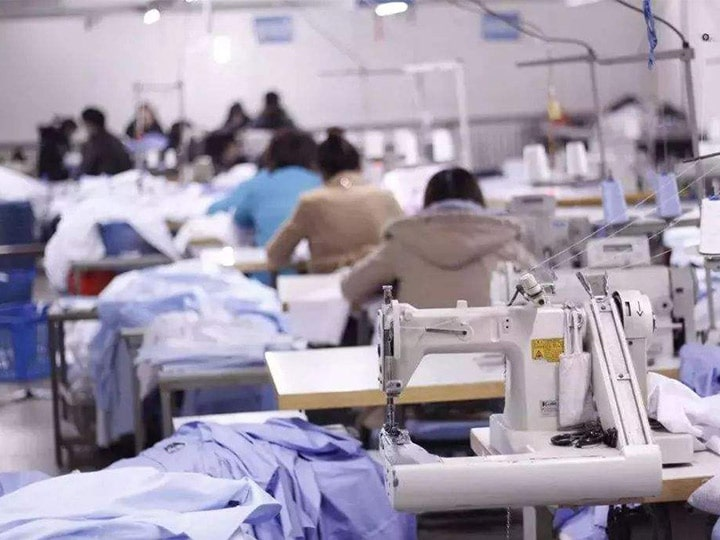 The boom of the garment manufacturing industry