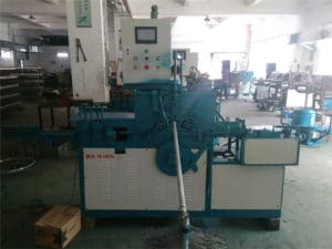 the factory of our hanger making machine