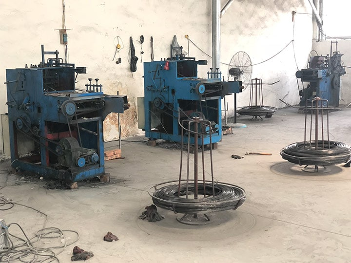 cloth hanger making machine