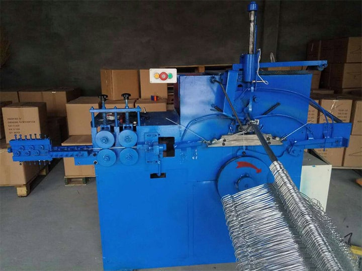 hanger making machine