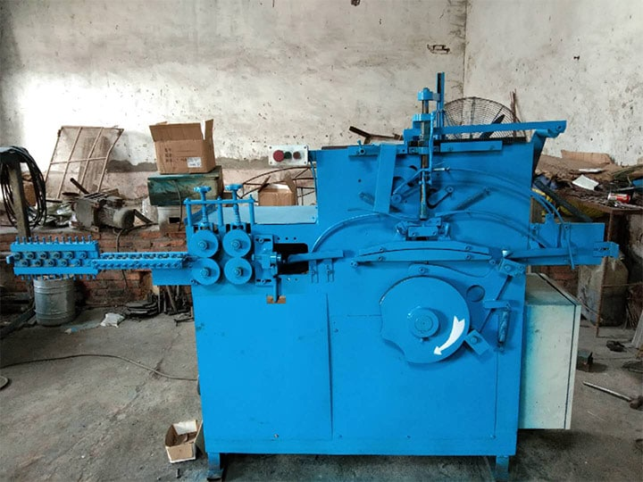 hanger making maker machine