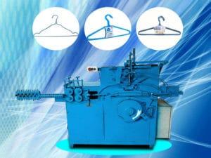 the hanger making machine