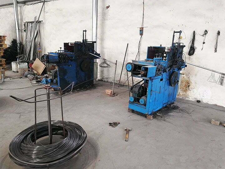 wire hanger making machine