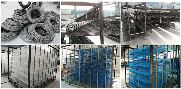 wire clothes hanger processing
